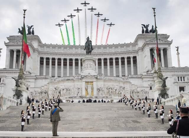 4 novembre 2020, festa delle Forze Armate e dell'Unità d'Italia