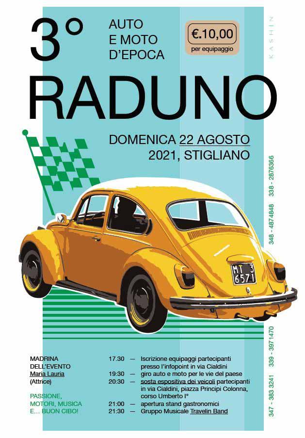 Terzo raduno auto e moto d'epoca Stigliano
